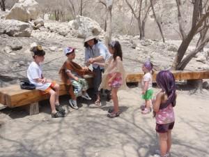 Biblical drama at Ein Gedi