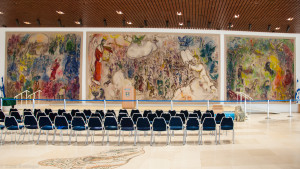 Chagall tapestry Knesset