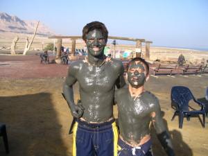 Mud at Ein Gedi